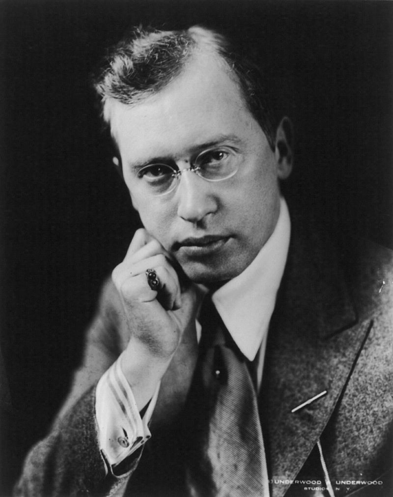 Portrait of Viereck, by Underwood & Underwood, 1922