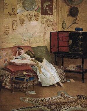 Georges Croegaert - The Reading Woman