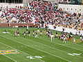 Georgia Bulldogs 2008 football team return to play.jpg