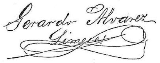 Gerardo Álvarez Limeses, firma, 4 2 1893