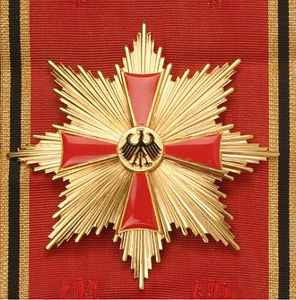 Order of Merit of the Federal Republic of Germany - Grand Cross star, special class