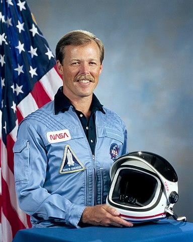 Astronaut Robert Lee