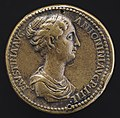 Giovanni da Cavino, Faustina Junior, died A.D. 176, Wife of Marcus Aurelius (obverse), NGA 45052.jpg