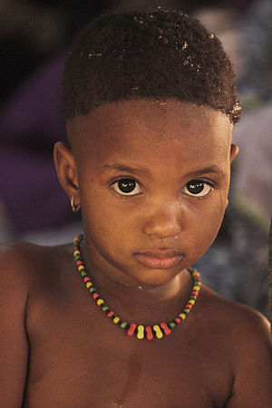 A child from Niger.
