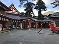 Gishikiden Hall of Taikodani Inari Shrine 2.jpg