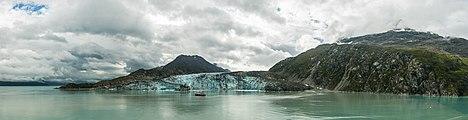 Glaciar Lamplugh, Parque Nacional Bahía del Glaciar, Alaska, Estados Unidos, 2017-08-19, DD 124-128 PAN.jpg