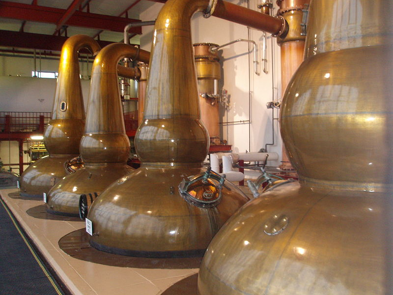File:Glendronach pot stills.jpeg