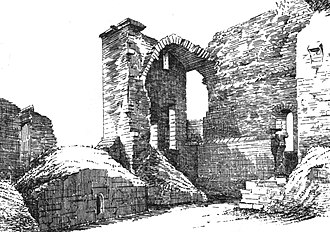 Glengarnock Castle - Glengarnock Castle circa 1887 - 92.