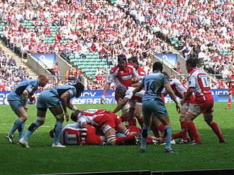 2008–09 EDF Energy Cup - Gloucester and the Cardiff Blues in the final of the 2008-09 EDF Energy Cup
