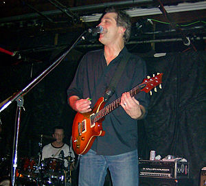 George McConnell - McConnell performing at Hal n Mal's in Jackson, Mississippi in 2008