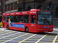 Go North East bus 8256 VDL SB120 Wright Cadet NK04 FOV Crusader livery in Newcastle 9 May 2009 pic 2.jpg