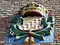 Godlinze - Pancratiuskerk - gevelsteen 1714.jpg