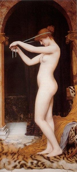 File:Godward - Venus Binding Her Hair.jpg