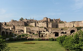 History of Hyderabad - Golconda Fort