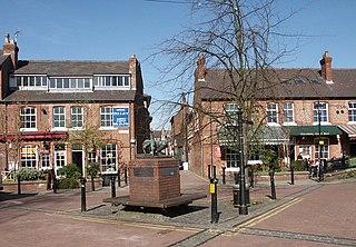 Altrincham Human settlement in England