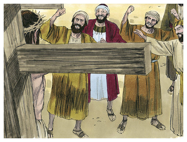 Gospel of Matthew Chapter 27-13 (Bible Illustrations by Sweet Media).jpg
