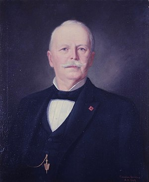 Robert Lowry (governor) - Image: Governor Robert Lowry, Jan. 29, 1882 to Jan. 13, 1890 (14099807806)