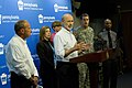 Governor Wolf and PEMA Director Rick Flinn Give Briefing on Hurricane Joaquin (21858206342).jpg
