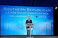 Governor of Florida Jeb Bush at Southern Republican Leadership Conference, Oklahoma City, OK May 2015 by Michael Vadon 03.jpg