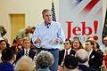 Governor of Florida Jeb Bush at TurboCam, Barrington, NH on August 32th by Michael Vadon.jpg