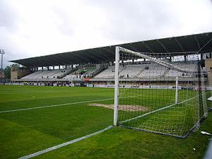 Stadium Gal - Image: Grada de tribuna del Stadium Gal