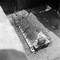 Graf van de wonderrabbijn van Gerrer met daarop wensbriefjes, Bestanddeelnr 255-0422.jpg