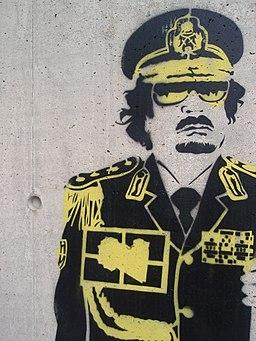 Graffiti Gaddafi