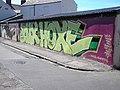 Graffiti mural. Cardiff - geograph.org.uk - 40726.jpg