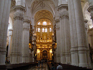 Granada Kathedrale innen verkl