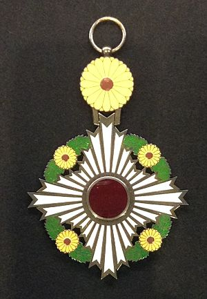 Japanese honors system - Grand Cordon of the Supreme Order of the Chrysanthemum