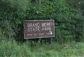Grand Mere State Park - Image: Grand Mere