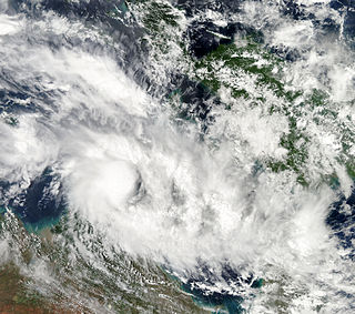 Category 2 Australian region cyclone in 2011 and 2012