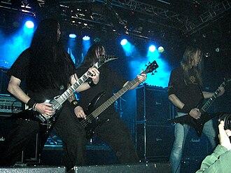 Grave (band) - Grave at Klubben, Stockholm, 2008