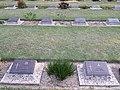 Gravestones at Chittagong war cemetery.jpg