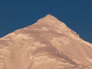 Tangra Mountains - Great Needle Peak from Bransfield Strait.
