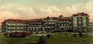 Historic Grand Hotels on the Mississippi Gulf Coast - Great Southern Hotel, circa 1920
