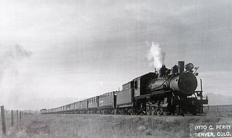 Great Western Railway of Colorado - Great Western 2-8-0 52