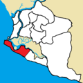 Greater Monrovia District - Monrovia City Corporation highlighted.png