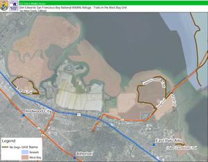 Greco Island - Image: Greco trail map 2012