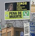 Green ad for death penalty in Mexico crop.jpg