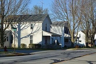 Ludlow Falls, Ohio - Greenville Avenue