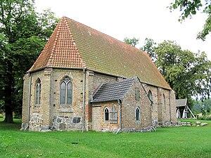 Bröbberow - Image: Gross Grenz Kirche 2009 08 04 055