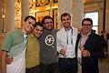 Group Photo at LOC Wikimania Opening Reception 1.jpg