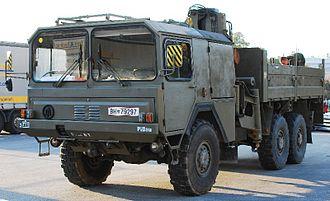 ÖAF - Austrian Army ÖAF-sLKW truck