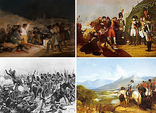 Peninsular War 19th-century military conflict fought by Spain and Portugal