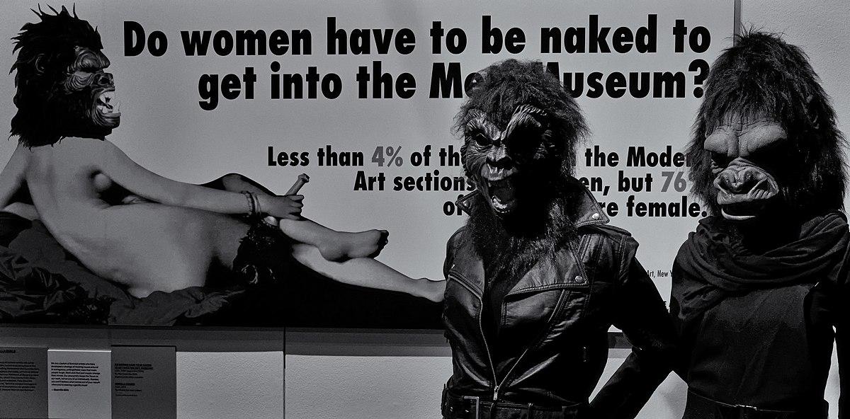 Guerrilla Girls - V&A Museum, London.jpg