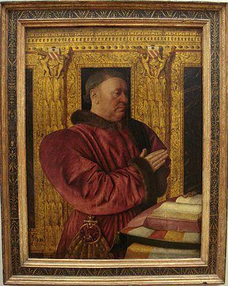 Grand Chancellor of France - Guillaume Jouvenel des Ursins, by Jean Fouquet, Musée du Louvre, Paris.