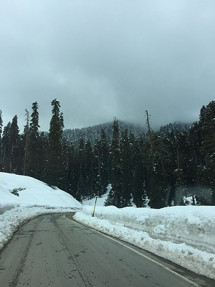 View when approaching Gulmarg