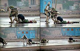 Second Battle Of Fallujah Wikipedia - Us marine map reading kia