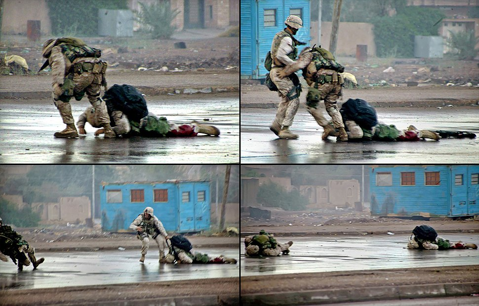 Gunnery Sergeant Ryan P. Shane shot while trying to rescue wounded Marine in Fallujah